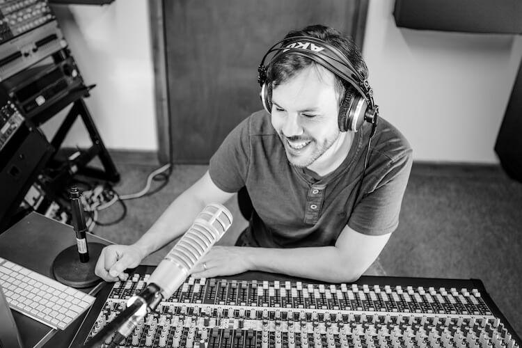 Rob in Studio