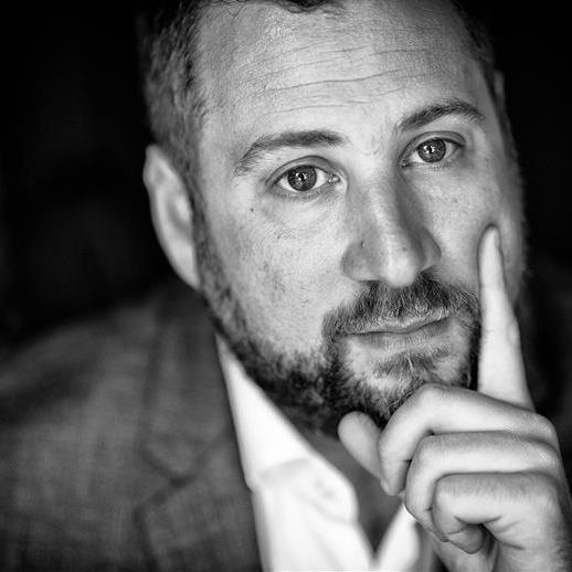 Jeff Goldenberg black and white profile picture