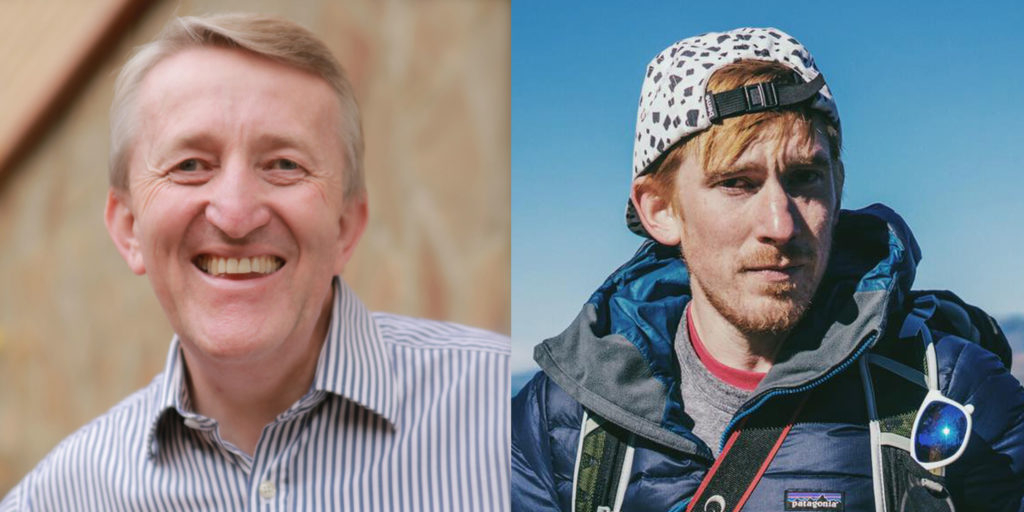 Pete and Sam Billingham profile pictures smiling