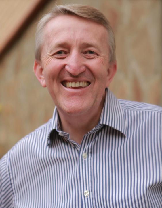 Peter Billingham profile picture smiling stripy shirt