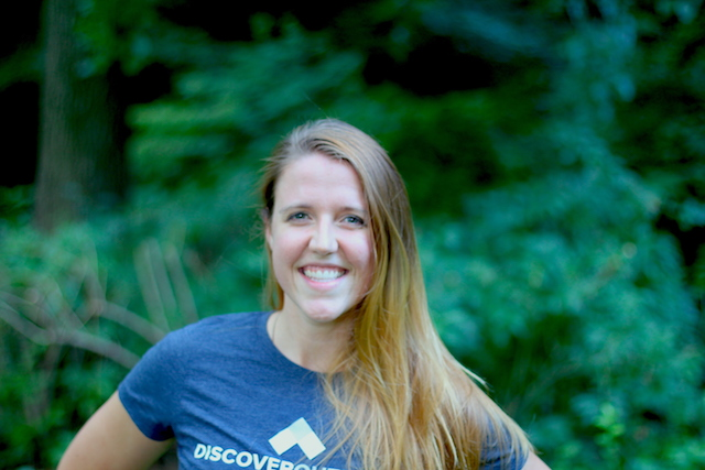 Lauren Skonieczny of Discover Outdoors smiling profile picture
