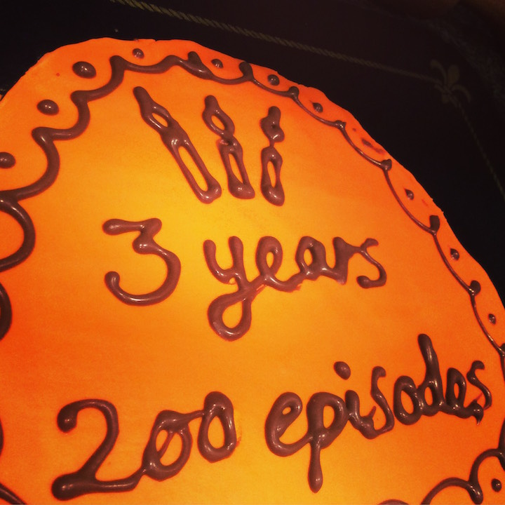 Inspirational Creatives 3 years 200 episodes