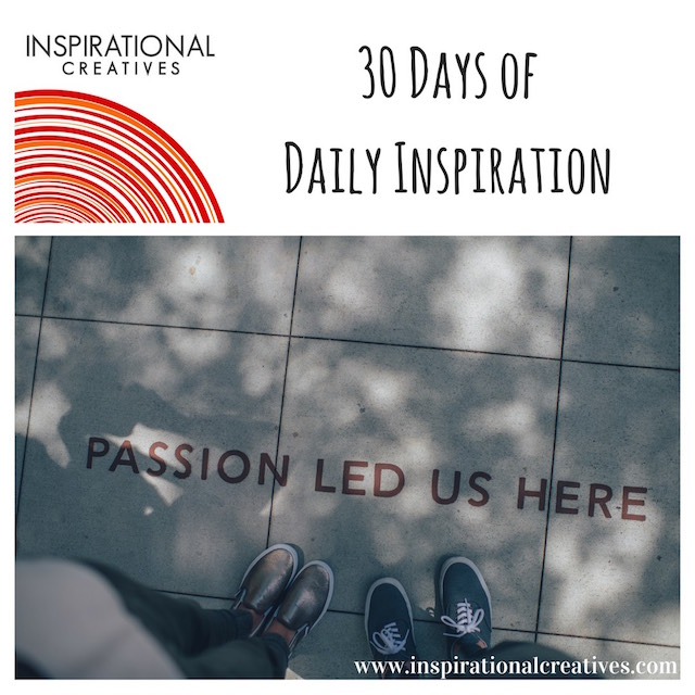 Three Years of Inspirational Creatives: 30 Days of Daily Inspiration